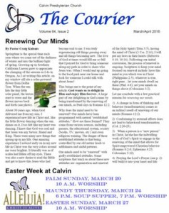 web March April Courier