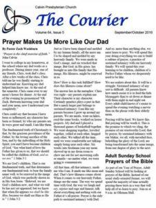 September Courier newsletter
